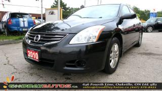 Used 2010 Nissan Altima 2.5 S |LOW KM|NO ACCIDENT|SUNROOF|CERTIFIED for sale in Oakville, ON