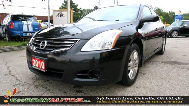 2010 Nissan Altima 2.5 S  LOW KM NO ACCIDENT SUNROOF CERTIFIED