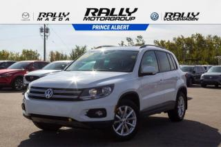 Used 2017 Volkswagen Tiguan Wolfsburg Edition for sale in Prince Albert, SK