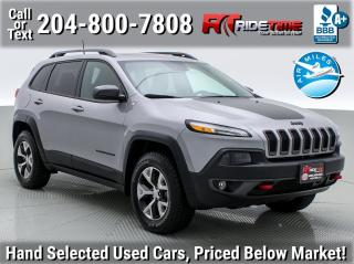 Used 2018 Jeep Cherokee Trailhawk Leather Plus for sale in Winnipeg, MB