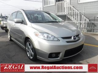 Used 2007 Mazda MAZDA5 GT 4D WAGON FWD for sale in Calgary, AB