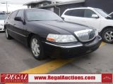 Photo of Black 2008 Lincoln Town Car