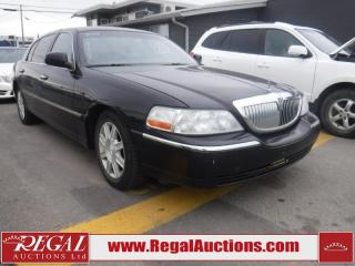 Used 2008 Lincoln Town Car Executive L 4D Sedan for sale in Calgary, AB