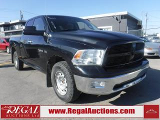 Used 2010 Dodge Ram 1500 SLT 4D Quad CAB 4WD for sale in Calgary, AB