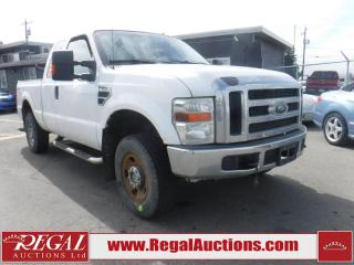 Used 2008 Ford F-250 XLT SuperCab 4WD for sale in Calgary, AB