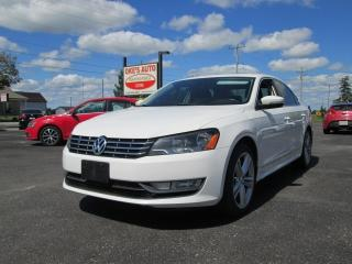 Used 2014 Volkswagen Passat 2.0L TDI for sale in Alvinston, ON