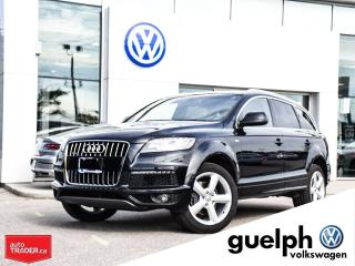 Used 2014 Audi Q7 Technik Quattro for sale in Guelph, ON