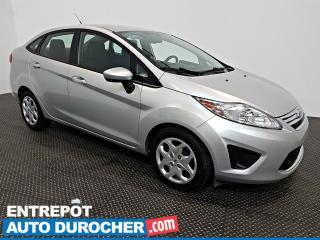 Used 2012 Ford Fiesta SE Automatique - AIR CLIMATISÉ - Groupe Électrique for sale in Laval, QC