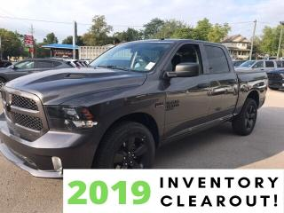 New 2019 RAM 1500 Classic Express | Black Accent Package | Hitch | Sport Per for sale in Mitchell, ON