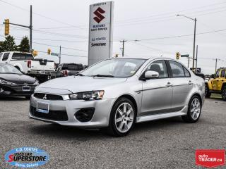 Used 2017 Mitsubishi Lancer ES ~Heated Seats ~Backup Camera ~Alloy Wheels for sale in Barrie, ON