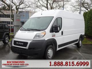 New 2019 RAM 3500 ProMaster High Roof 159 in. WB for sale in Richmond, BC