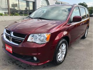 Used 2018 Dodge Grand Caravan Premium Plus w/Navigation, Bluetooth, Rear Park As for sale in Hamilton, ON