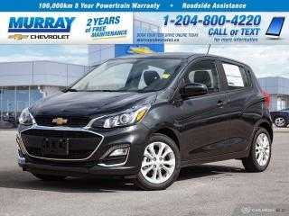 New 2020 Chevrolet Spark LT for sale in Winnipeg, MB
