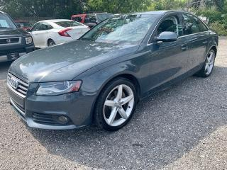 Used 2011 Audi A4 4dr Sdn Auto quattro 2.0T, dealer serviced, no accidents for sale in Halton Hills, ON