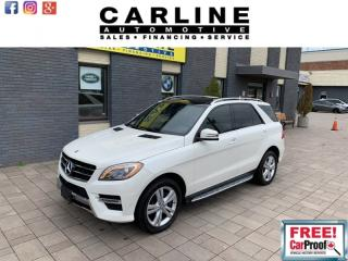 Used 2014 Mercedes-Benz ML-Class 4MATIC 4dr ML350 BlueTEC for sale in Nobleton, ON