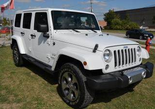 Used 2018 Jeep Wrangler SAHARA 4X4 for sale in Brampton, ON