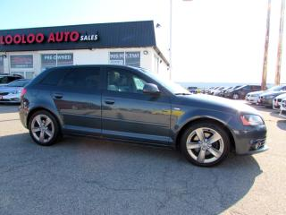 Used 2009 Audi A3 2.0T QUATTRO S-LINE HATCHBACK AUTO CERTIFIED 2009 Audi A3 2.0T quattro DSG for sale in Milton, ON