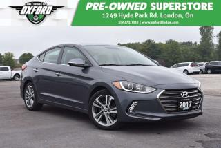 Used 2017 Hyundai Elantra Limited - 1 Owner, Very Low Kms, Sunroof for sale in London, ON