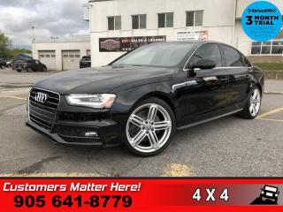 Used 2015 Audi A4 2.0T quattro Technik Plus  TECH-PLUS NAV ROOF for sale in St. Catharines, ON