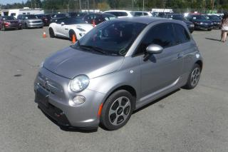 Used 2016 Fiat 500 E Battery Electric Hatchback for sale in Burnaby, BC