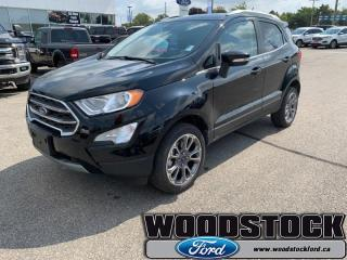 Used 2019 Ford EcoSport Titanium 4WD  - Leather Seats for sale in Woodstock, ON