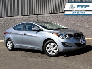 Used 2016 Hyundai Elantra L+  -  Power Windows - $104 B/W for sale in Brantford, ON