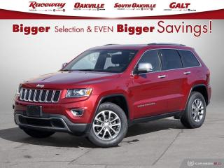 Used 2014 Jeep Grand Cherokee Htd Seat l Back Up Cam l Leather for sale in Etobicoke, ON