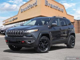 Used 2016 Jeep Cherokee Trailhawk  - Bluetooth - $216 B/W for sale in Brantford, ON