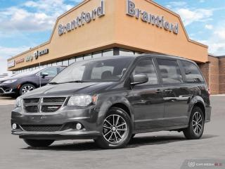 Used 2018 Dodge Grand Caravan SXT Premium Plus - Aluminum Wheels - $180 B/W - $1  - $192 B/W for sale in Brantford, ON