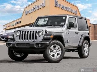 Used 2020 Jeep Wrangler Sport S  - Uconnect - Fog Lamps for sale in Brantford, ON