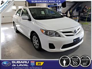 Used 2012 Toyota Corolla CE ** Air Climatisé ** for sale in Laval, QC