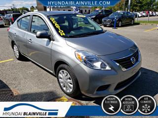 Used 2012 Nissan Versa 4 PORTES, DÉMARREUR DISTANCE, AUTOMATIQUE, A/C for sale in Blainville, QC