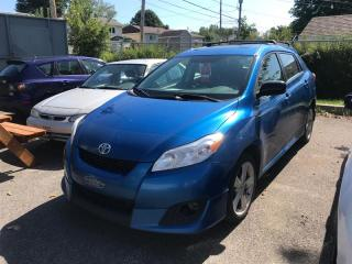 Used 2009 Toyota Matrix AWD for sale in Québec, QC