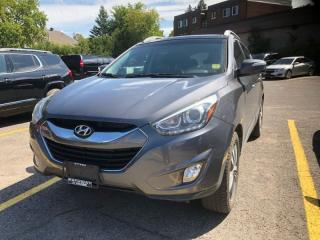 Used 2014 Hyundai Tucson 2.4L Limited AWD with Navigation  2.4, AUTOMATIC, LEATHER, SUNROOF, AWD, LIMITED MODEL!! for sale in Ottawa, ON