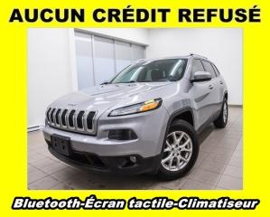 Used 2016 Jeep Cherokee NORTH 4X4 ÉCRAN TACTILE CLIMATISEUR *BLUETOOTH* for sale in St-Jérôme, QC