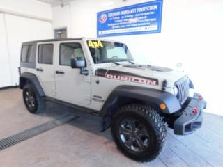 Used 2017 Jeep Wrangler Unlimited Rubicon Recon LEATHER NAVI for sale in Listowel, ON