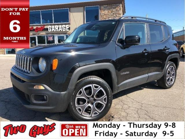 2015 Jeep Renegade North | 4WD| Htd Seats| B/Up Cam | Bluetooth