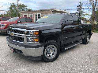 Used 2014 Chevrolet Silverado 1500 2WT| Ext 4.3L V6| Tow Pkg | Power Group for sale in St Catharines, ON