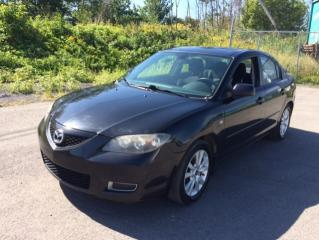 Used 2008 Mazda MAZDA3 2008 Berline 4 portes, boîte manuelle, G for sale in Quebec, QC