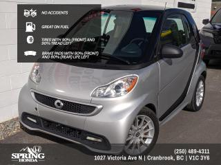 Used 2013 Smart fortwo Pure $47 BI-WEEKLY - $0 DOWN for sale in Cranbrook, BC