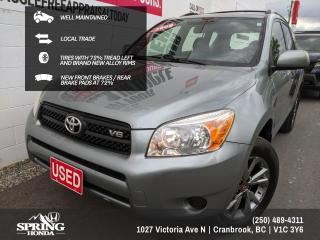 Used 2008 Toyota RAV4 V6 REMOTE ENGINE STARTER, SMOKE-FREE, NEW ALLOY RIMS,NEW FRONT BRAKES - $128 BI-WEEKLY - $0 DOWN for sale in Cranbrook, BC