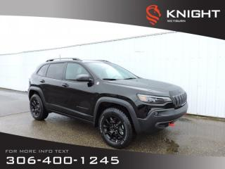 Used 2019 Jeep Cherokee Trailhawk 4x4 V6 | Navigation | Remote Start for sale in Weyburn, SK