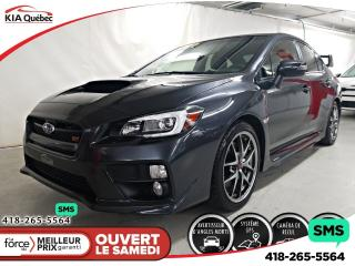 Used 2017 Subaru WRX STI* AWD* MANUELLE* GPS* CAMERA* CUIR* TOIT* for sale in Québec, QC