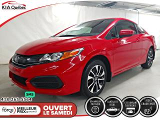 Used 2015 Honda Civic EX* 2 PORTES* A/C* CAMERA* SIEGES CHAUFFANTS* for sale in Québec, QC