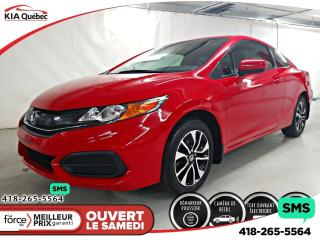 Used 2015 Honda Civic EX* A/C* TOIT OUVRANT* SIEGES CHAUFFANTS* CAMERA* for sale in Québec, QC