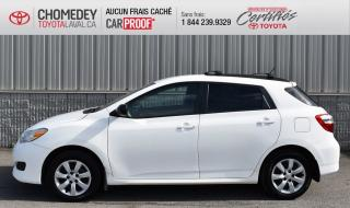 Used 2013 Toyota Matrix AWD TRÈS RARE, AUTOMATIQUE for sale in Laval, QC