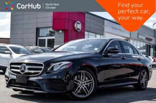 Used 2018 Mercedes-Benz E-Class E 300|Smartphone.Integ,Sun.Protection,Driver.Assist,Light.Pkgs| for sale in Thornhill, ON