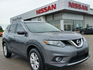 Used 2014 Nissan Rogue SV AWD w/heated seats,panoramic roof,rear cam,sxm radio for sale in Cambridge, ON