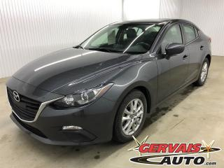Used 2016 Mazda MAZDA3 GS MAGS GPS CAMÉRA DE RECUL BLUETOOTH for sale in Trois-Rivières, QC