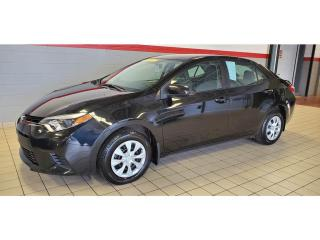 Used 2015 Toyota Corolla 4dr Sdn Man CE /GR ÉLECTRIQUE/ for sale in Terrebonne, QC